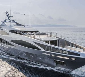 New 47m motor yacht PANTHERA (FB502) by Benetti