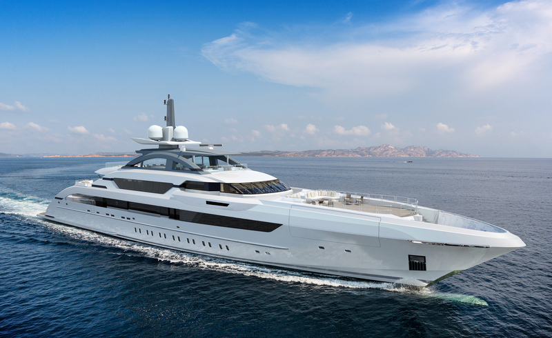 70m Fast Displacement Yacht YN 17470 by Heesen Yachts
