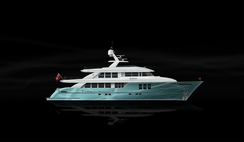 Boksa 38m Yacht Design Light Blue Hull Yacht Charter Superyacht News