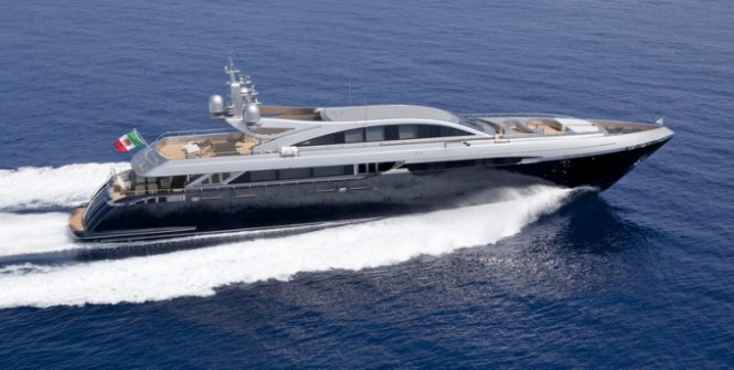 Codecasa 50s superyacht Framura 3 (hull C 120) by Codecasa Shipyards.