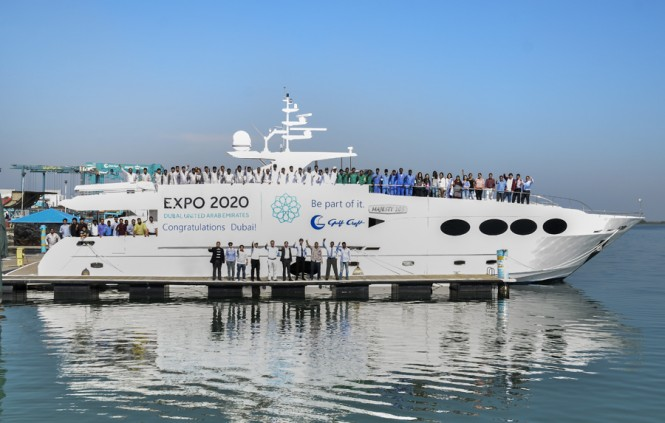 ... Dubai World Expo 2020 team - Gulf Craft congratulates the Dubai Expo