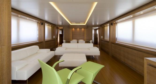 Luxury yacht Marcelina - Saloon