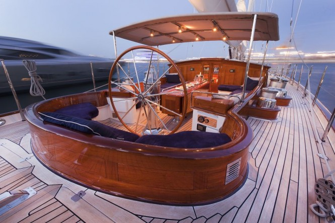 Luxury yacht THIS IS US
