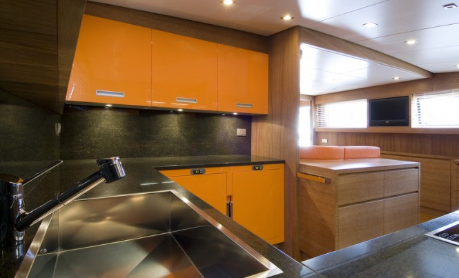 Marcelina Yacht - Galley