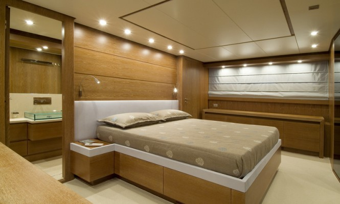 Marcelina Yacht - Owners Cabin