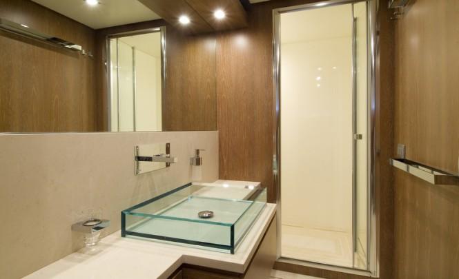 Marcelina superyacht - Owners Bathroom