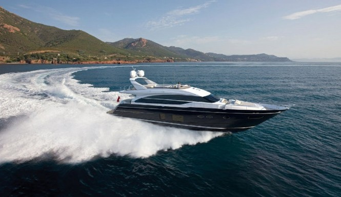 Motor yacht Princess 82 to be presented at 2014 London Boat Show