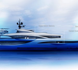Dorries Yachts presents new 65m mega yacht exterior proposal