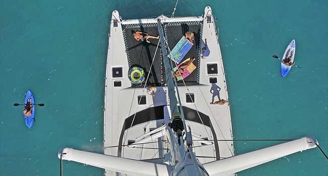 Sailing catamaran QUEST