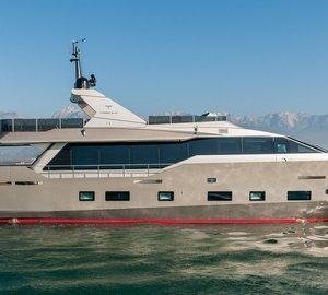 Admiral Tecnomar announces delivery of Tecnomar Nadara 30 motor yacht ZAHRAA