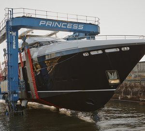 Historic Past Honoured by Princess South Yard Superyacht Facility