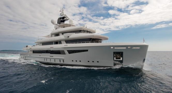 Cosmo 50 Explorer Yacht I-Nova - Photo credit AB Photodesign