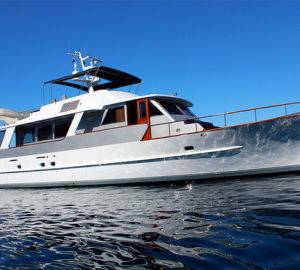 Motor yacht MARIA - the first Feadship yacht fitted with a Seakeeper gyro