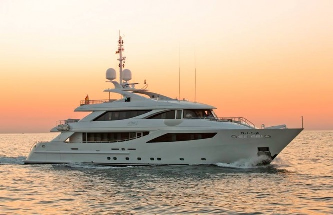Luxury superyacht Aziza by ISA