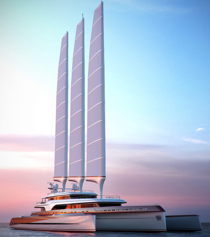 Luxury yacht Dragonship 80m