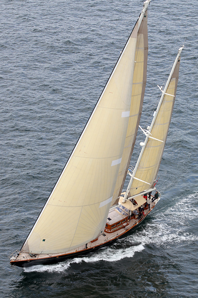 26m superyacht Velacarina - Photo by Richard Langdon
