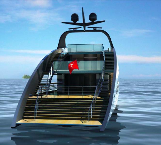 41m Rodriguez Yacht