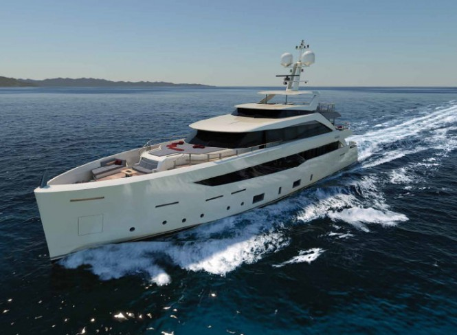 New Mondo Marine superyacht SF40
