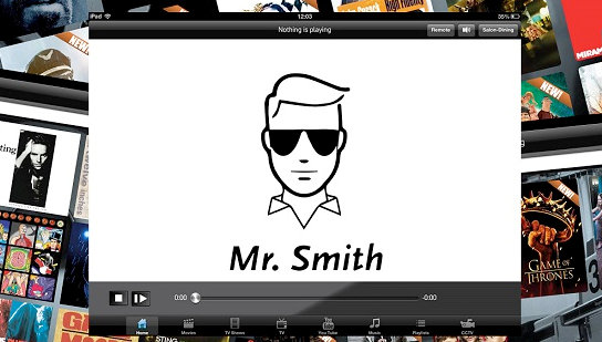 Newly rebranded website of Mr Smith Entertainment