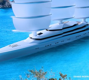 120m Mega Yacht MARIYA - the latest ultra-modern superyacht design by Dennis Ingemansson