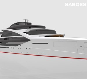 SABDES Superyacht Design nominated for IY&A Award 2014 with 145m mega yacht 'Project X'