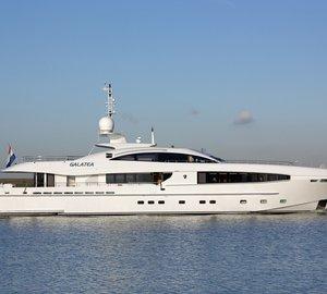 Successful sea trials for 40m Heesen luxury yacht GALATEA
