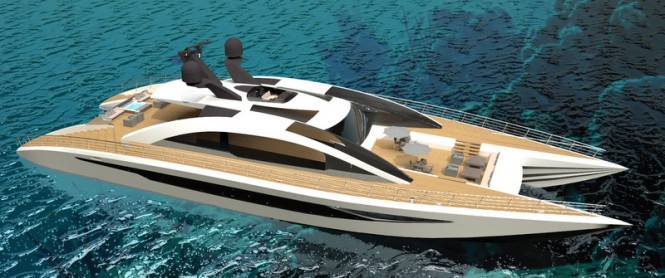 45M Fast Motor Yacht EQUINOX Concept by Andrew Trujillo and Adam Younger