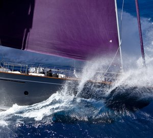 Pictures of Perini Navi Group yachts to be auctioned at Asia Society Hong Kong Center Spring Dinner