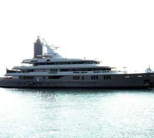 Photos of 76m Mega Yacht REBORN in Livorno, Italy