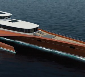 New 60m Power Trimaran Yacht Concept by Blue Coast Yachts