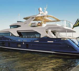 Benetti Delfino 93 motor yacht ZAPHIRA (BD005) to make her debut at Rio Boat Show 2014