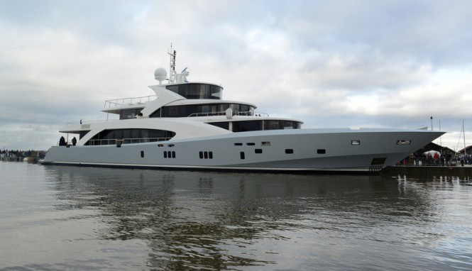 Couach 5000 Fly superyacht Hull no. 2