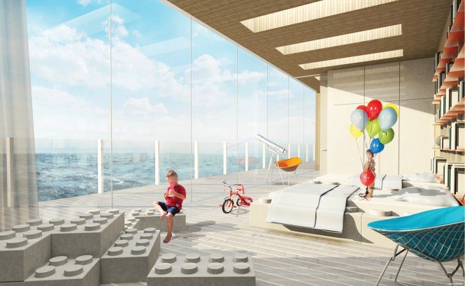 GLASS Yacht Concept - Interior