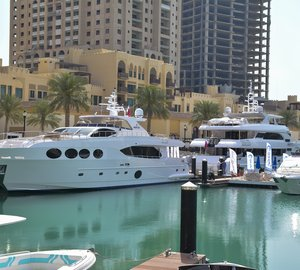 Most impressive fleet of luxury yachts by Gulf Craft on display in Doha