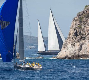 Loro Piana Caribbean Superyacht Regatta: Day 1 - Top spots for superyachts Nilaya, Freya and Tempus Fugit