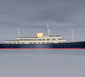 PROJECT NELSON's General Arrangement released by Burgess Marine and Laurent Giles