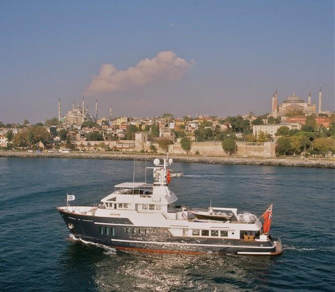 Luxury motor yacht Caressa K