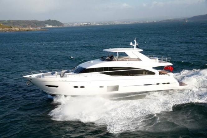 Luxury motor yacht Princess 88 by Princess Yachts