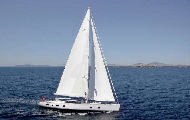 Luxury sailing yacht Sarafin