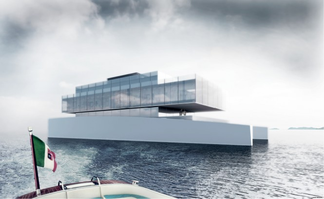 Luxury yacht GLASS concept