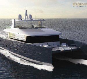 Ivan Erdevicki announces further development of catamaran motor yacht KingCAT80 design