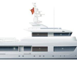 Modernised 125ft Explorer Yacht Design by ERDEVICKI superyacht design