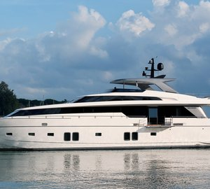 Sanlorenzo motor yacht SL104-592 to be displayed at Palm Beach Boat Show 2014