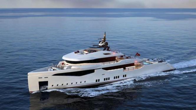 RMK 5000 True Luxury Explorer yacht concept