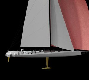 30m IRC super maxi yacht RIO 100 to receive full set of Doyle Stratis ICE sails