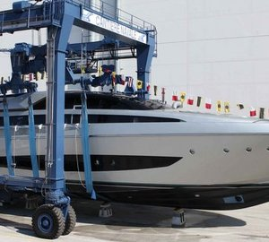 Technical launch of Riva 122' motor yacht MYTHOS at CRN Ancona