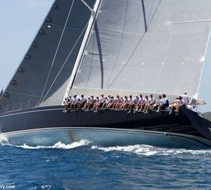 Nauta Design / Reichel Pugh yacht NILAYA Overall Winner of Loro Piana Caribbean Superyacht Regatta 2014