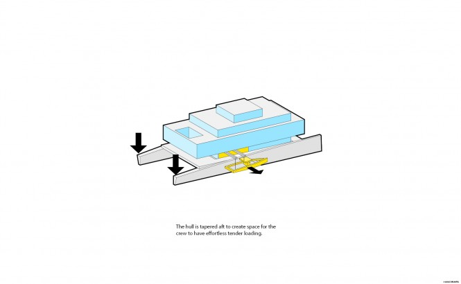 Super yacht GLASS concept