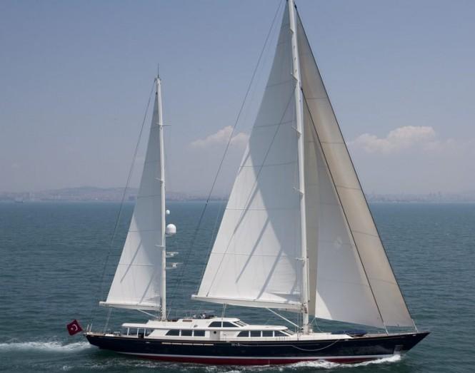 Superyacht Nazenin V built by RMK Marine