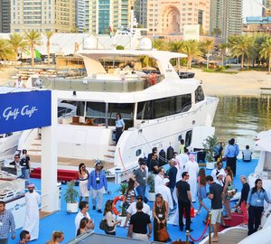 A very successful Dubai Boat Show 2014 for Gulf Craft